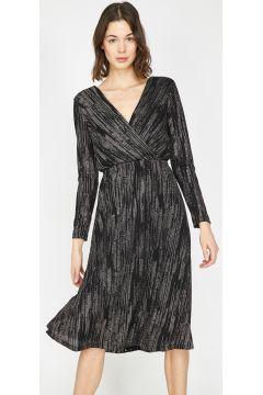 Koton Taş İşlemeli Siyah Elbise(113976802)