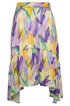Lemonkb Skirt Knielanges Kleid Bunt/gemustert KAREN BY SIMONSEN(109112831)