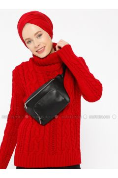Red - Polo neck -- Jumper - Zentoni(110323412)