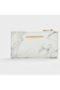 Stradivarius Porte-monnaie basique marbre FEMME Blanc 103(112237905)