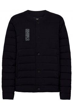 Keanu Light Padded Jacket Gefütterte Jacke Blau WOOD WOOD(120777341)
