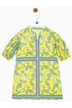 Tyess B&G Renkli Kız Çocuk Elbise(114005943)