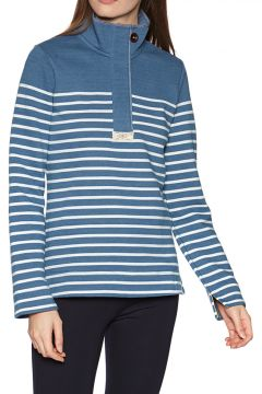 Sweat Femme Joules Saunton Salt - Blue Cream Stripe(111330356)