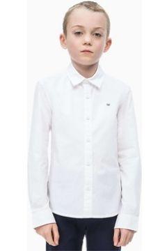 Chemise enfant Calvin Klein Jeans IB0IB00057 STRETCH POPLIN(115623732)