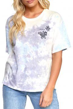 T-Shirt à Manche Courte Femme RVCA Michelle - Vintage White(119289413)