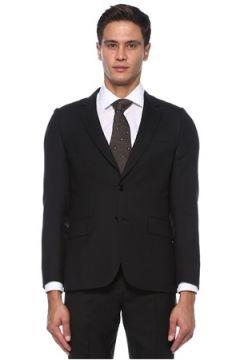 Paul Smith Erkek Antrasit Kelebek Yaka Yün Takım Elbise Gri 46 IT(121108268)