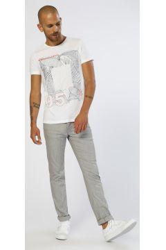 Twister Jeans Panama 338 Keten Gri Klasik Pantolon(113964560)