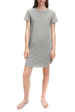 Calvin Klein One Stretch Cotton Nightshirt Damen Nachtwäsche - Grey Heather(123708359)