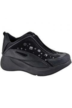 Chaussures enfant Fornarina Borchie Zip Talon compensé(115496909)