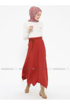 Terra Cotta - Skirt - İroni(110313959)