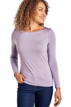 T-shirt Woolovers T-shirt encolure bateau à manches longues Femme Jersey(115541296)
