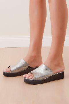 Shoes Time Kadın Platin Terlik 20y 824(124056522)