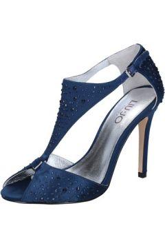 Sandales Liu Jo sandales bleu satin strass BZ124(115393929)