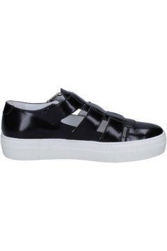 Chaussures Cult mocassins noir cuir BT753(115442899)