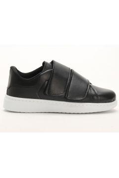 Sportmax Kadın Siyah Bantlı Sneaker(110948855)