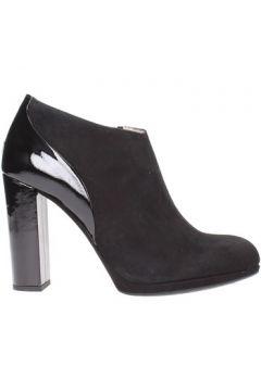 Boots Unisa - Tronchetto black camoscio/vernice PRUDEN(101788184)