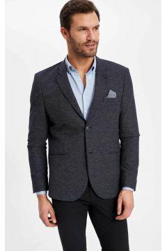 DeFacto Erkek Mendil Detaylı Modern Fit Blazer Ceket(108987190)
