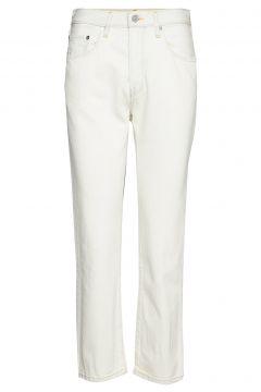 501 Crop Lmc Mid Century White Straight Jeans Hose Mit Geradem Bein Weiß LEVI\'S MADE & CRAFTED(108574208)