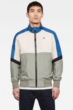G-Star RAW Men Meson Colorblocked Track Jacket Medium blue(118171265)