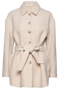 Lima Coat Wollmantel Mantel Creme FILIPPA K(114154520)
