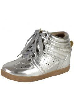 Chaussures The Divine Factory Basket Compnesée Argent(115489460)
