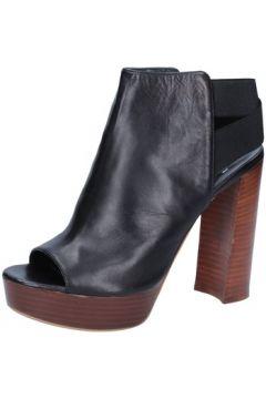 Sandales Silvia Rossini sandales noir cuir BZ569(88470327)