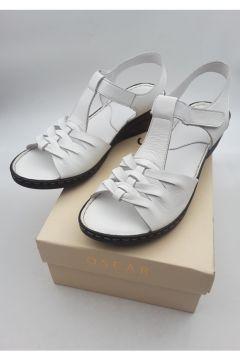 Oscar Kadın Beyaz Sandalet(120458989)