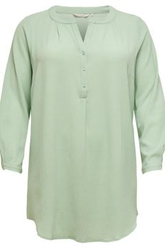 ONLY Curvy Longsleeve Tuniek Dames Green(116337017)