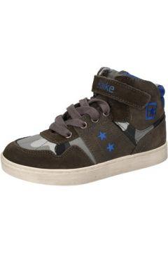 Chaussures enfant Blaike sneakers gris textile daim AD696(115393761)