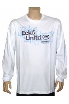 T-shirt Ecko Ecko- T-Shirt a manches longues Shattered Panes - White(98747748)