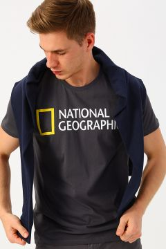 National Geographic Antrasit T-Shirt(126441858)