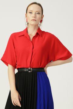 Beymen Studio Kırmızı Gömlek(122708420)
