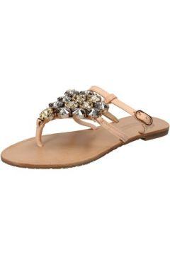 Sandales Fifth Avenue sandales beige cuir AE161(115399432)