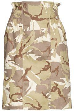 Keeley Skirt Knielanges Kleid Beige IDA SJÖSTEDT(109152067)