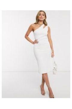 Ivyrevel - Vestito monospalla con cut-out bianco(120334499)