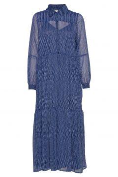 Penny Dress Maxikleid Partykleid Blau LOLLYS LAUNDRY(114164485)