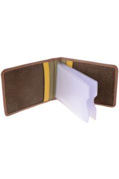 Portefeuille Dudu Porte cartes de crédit en cuir Colorful - Hawaii - Marron(115387929)
