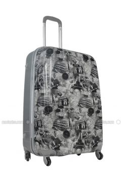 Gray - Multi - Suitcases - ÇÇS(110328852)