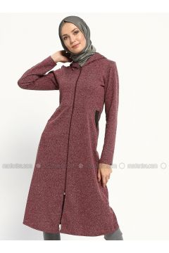 Maroon - Unlined - Topcoat - ZENANE(110315512)