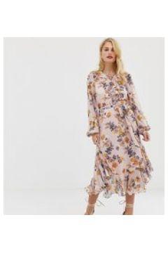 Forever New - Wadenlanges Kleid mit V-Ausschnitt(93655519)