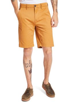 Timberland Squam Lake Stretch Twill Straight Chino Spazier-Shorts - Wheat Boot(116437550)