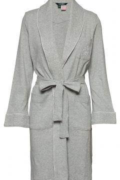 Lrl Essential Quilted Collar Robe Bademantel Grau LAUREN RALPH LAUREN HOMEWEAR(109112322)