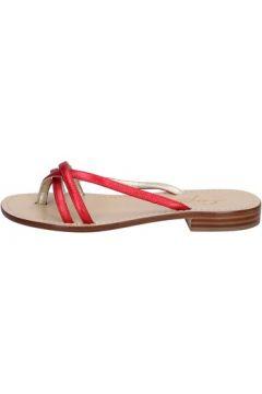 Sandales Soleae sandales rouge cuir BY501(115401148)