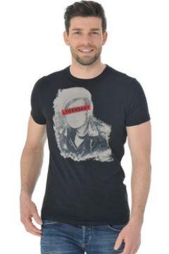 T-shirt Schott TSICON2 BLACK(127913247)