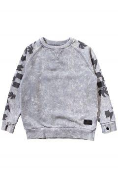 Munsterkids One Stripe Sweater grijs(96712615)