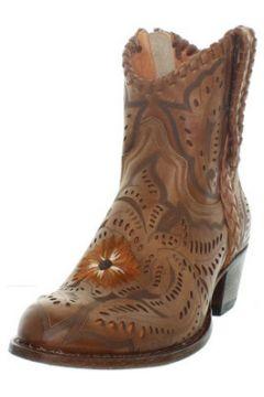 Bottes Sendra boots Bottes Deborah en cuir ref_sen43408 Marron(88519717)
