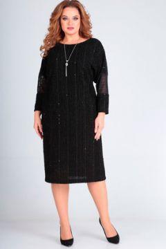 Платье Andrea Style 00235 черный(117354802)