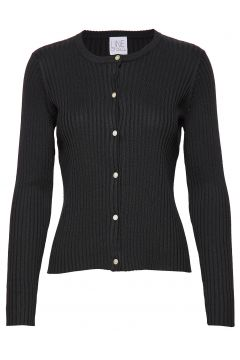 Ryan Tencel Cardigan Strickpullover Schwarz LINE OF OSLO(114152876)