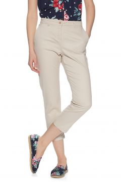 Pantalon Chino Femme Joules Hesfordcrop - Ivory(111330460)