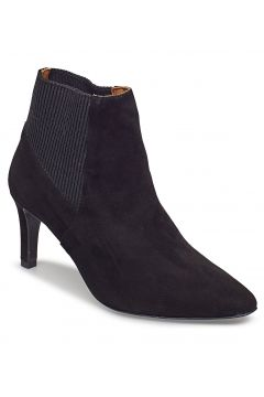 Sasha Black Suede Shoes Boots Ankle Boots Ankle Boots With Heel Schwarz FLATTERED(100791317)